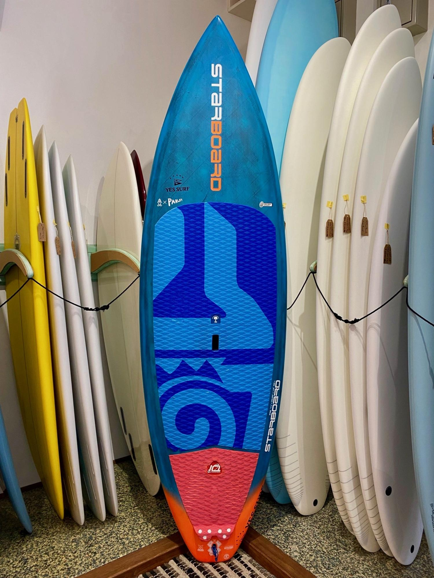 USED BOARDS  (STARBOARDS SUP PRO PERFORMANCE 7.5)