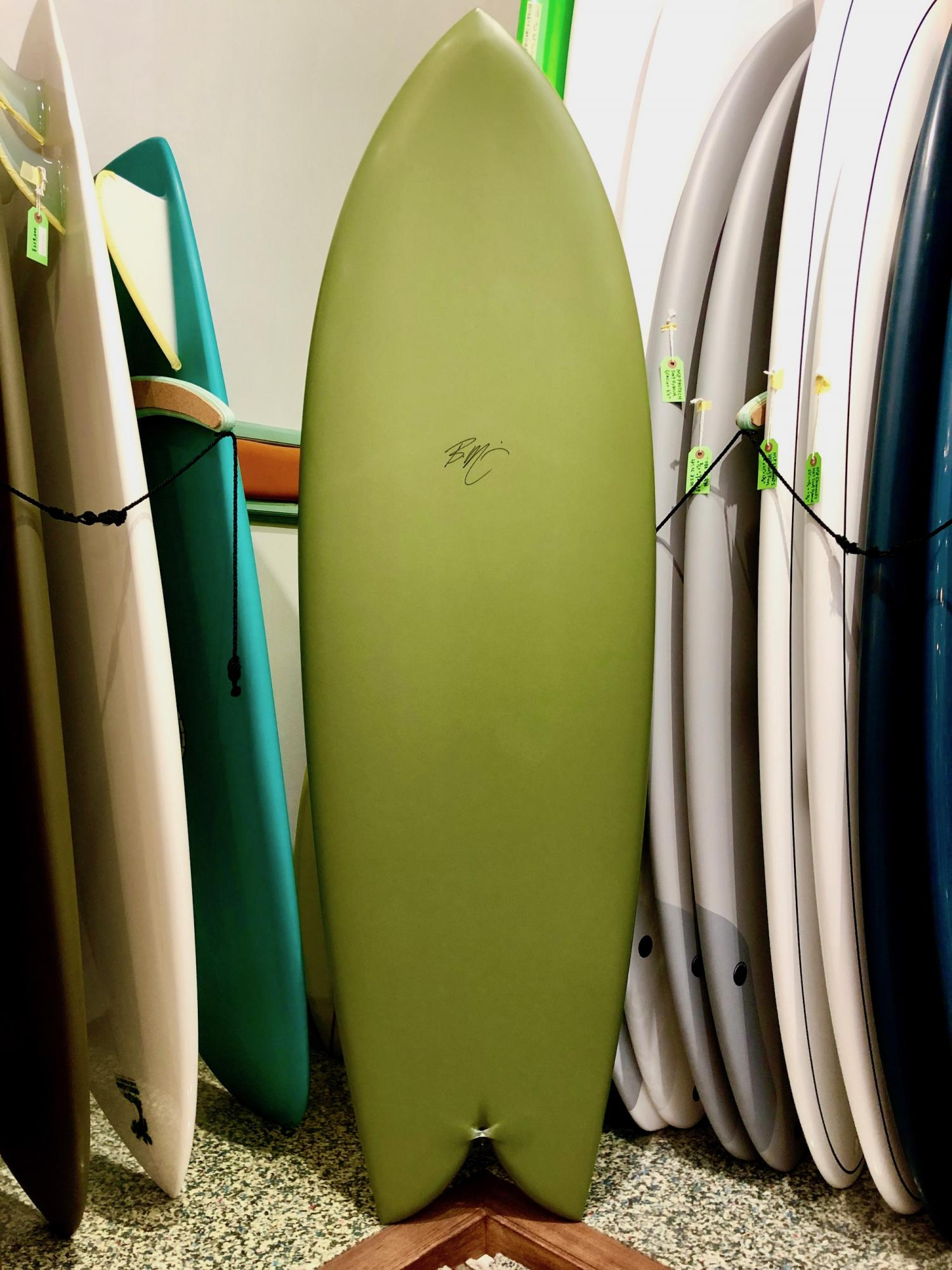 Mitsven Surfboards DH Keel Fish 5.8